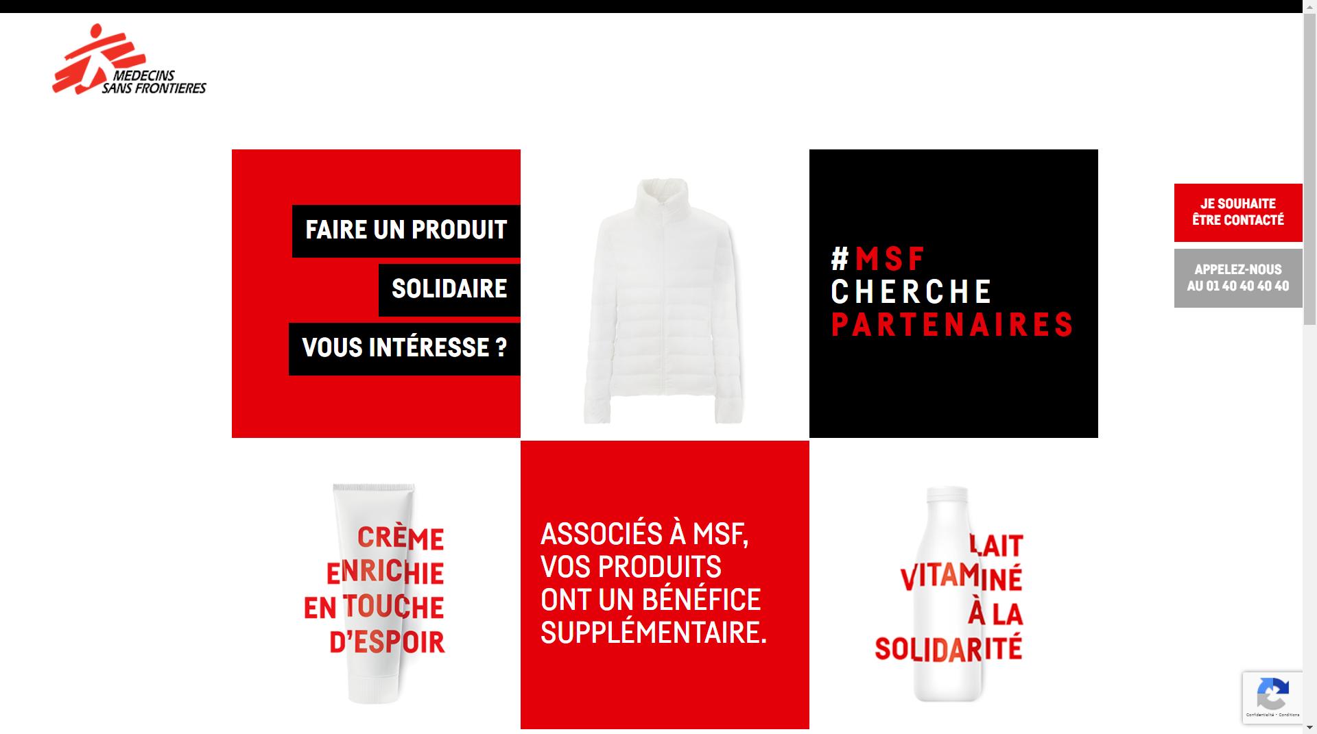 #MSF Cherche Partenaires